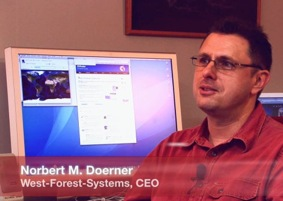 Norbert M. Doerner, CEO West-Forest-Systems