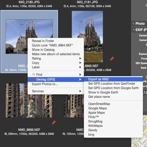 NeoFinder and Google Earth - Find out WHERE your photos were